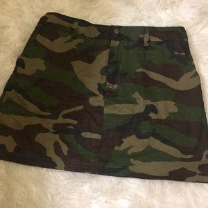 Dresses & Skirts - Camo Print Skirt